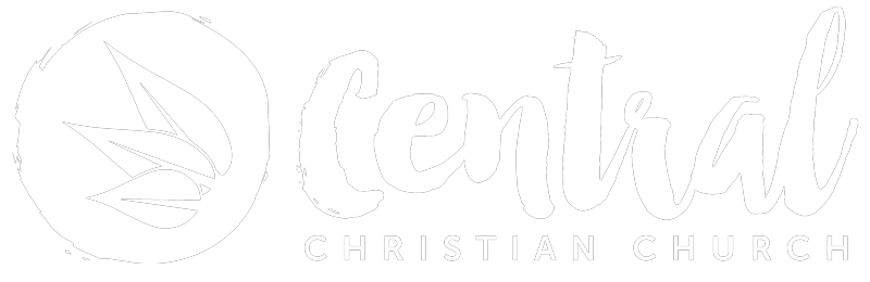 Central Christian Church Ocala, Florida Logo White